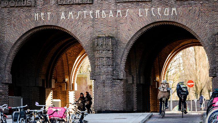 Het Amsterdams Lyceum was een van de meest populaire scholen in 2018. Beeld anp