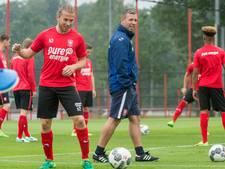 Eerste training FC Twente: 'Applaus van de spelers en staf voor de steun'