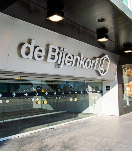 Raam vernield en horloges gestolen bij de Bijenkorf in Eindhoven