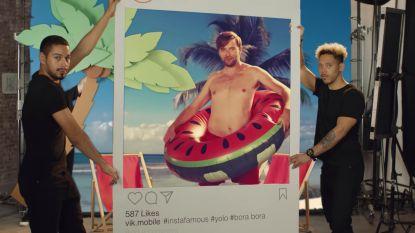 De ster van de reclamespot die al een miljoen keer bekeken werd: hij geeft ook zedenleer, jaja