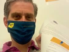 Burgemeester Kolff krijgt coronavaccinatie: 'Toch wel een bijzonder moment'