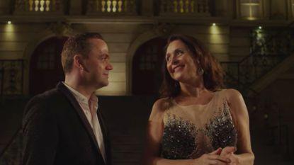 Wendy Van Wanten en Steve Tielens schitteren in romantische clip