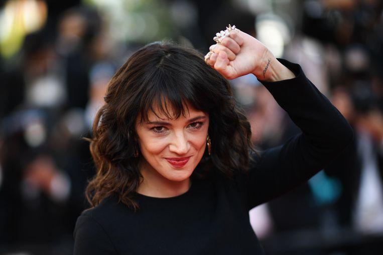 Asia Argento is een van de leidende figuren in de #metoo-beweging. Ze was vorig jaar een van de eerste vrouwen die Hollywoodproducer Harvey Weinstein beschuldigde van seksueel misbruik.