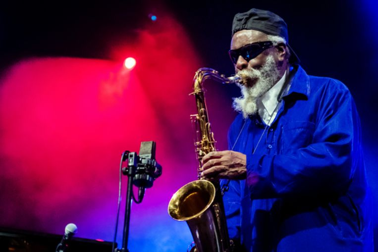 Pharaoh Sanders Beeld Getty Images