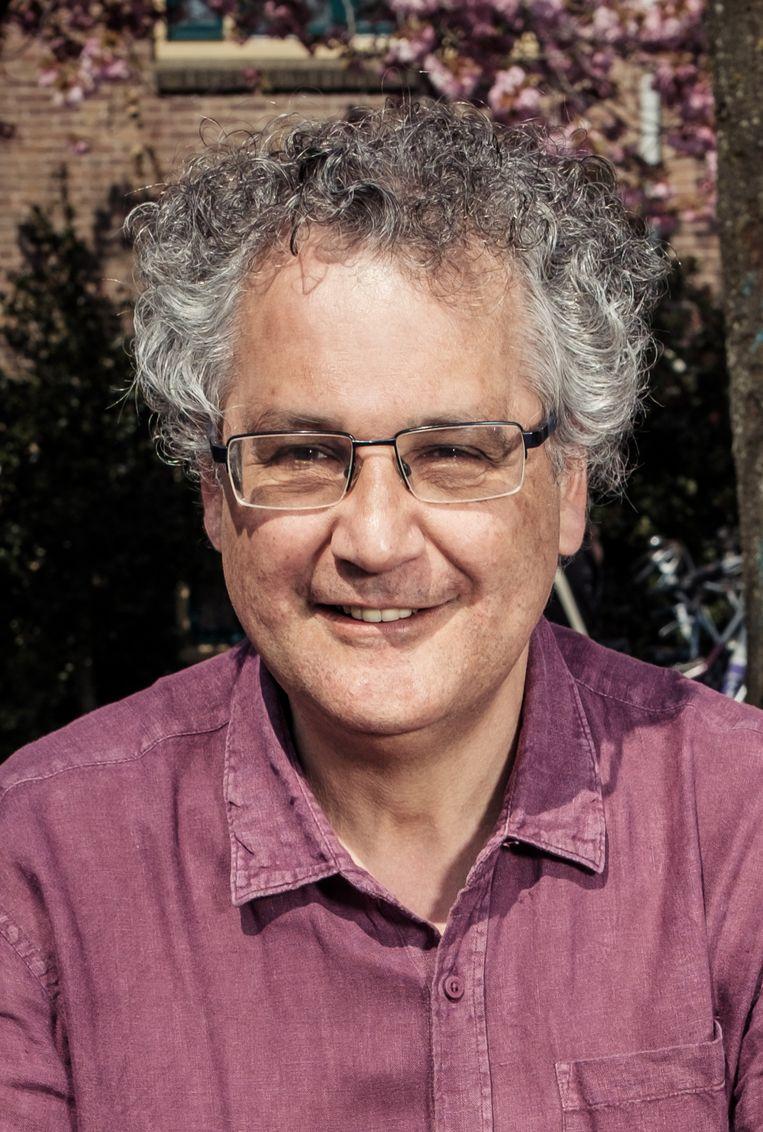 Lukas Stalpers: 'We moeten zorgen dat een virus ons niet meer zo hard raakt.'  Beeld Jakob Van Vliet