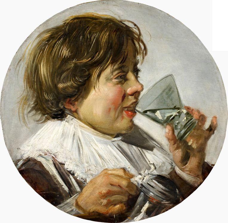 Frans Hals, Jongen met berkemeyer, 1625-28, Staatsliches Museum Schwerin. Beeld