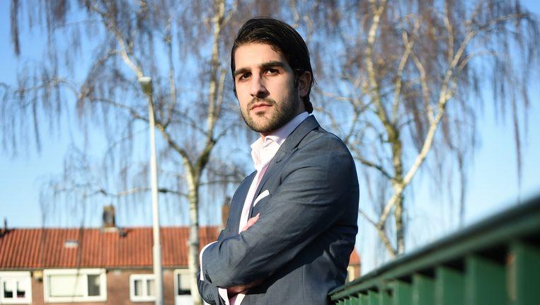 Salem Kurdi. Beeld Marcel van den Bergh
