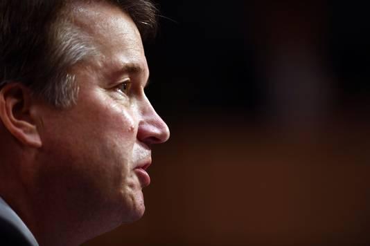 Brett Kavanaugh blijft erbij dat de beschuldigingen aan zijn adres niet waar zijn.