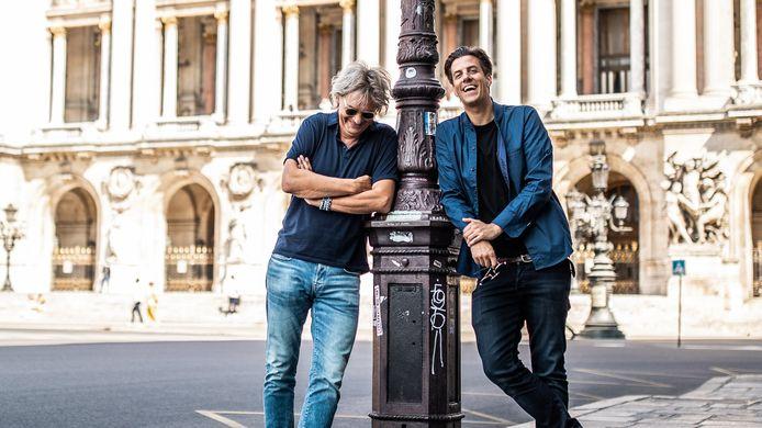 Matthijs van Nieuwkerk en Rob Kemps in Chansons!
