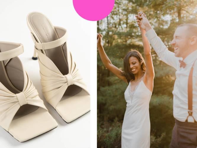 """5 tips van schoenenontwerpster Virginie Morobé tegen pijnlijke voeten op je trouwdag: """"Steek er een vochtig doekje in"""""""