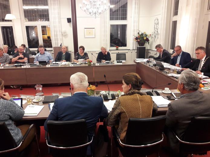 Gemeenteraad van Oisterwijk bijeen voor zijn begrotingsvergadering.