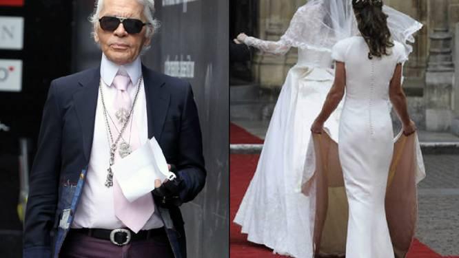"Lagerfeld: ""Pippa zou beter alleen achterkant tonen"""