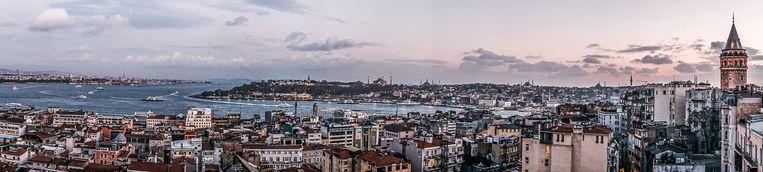 Panorama van Istanbul. Beeld Joris van Gennip / HH