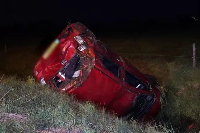 Ongeval op A58.