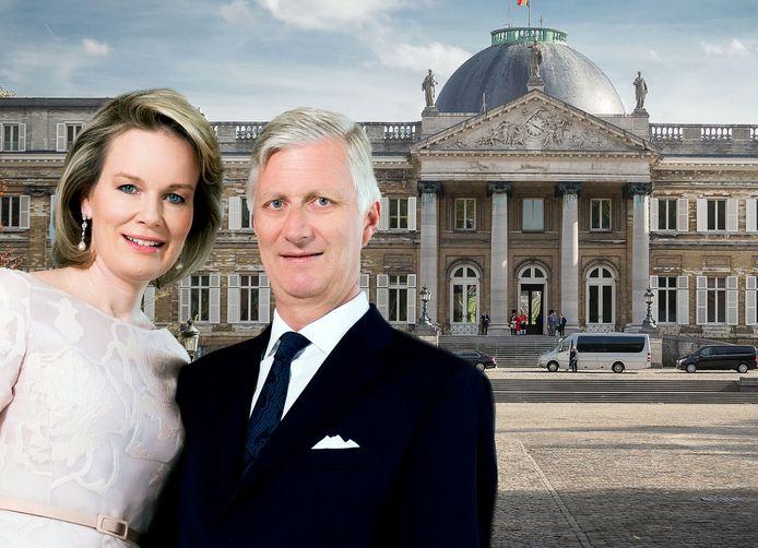 Philippe et Mathilde ont immédiatement emménagé ensemble au Château de Laeken après leur mariage en 1999.