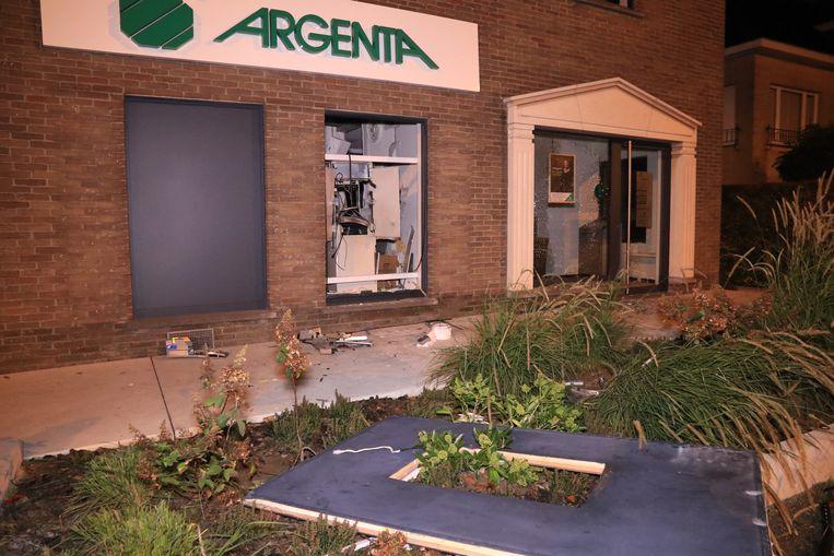 Afgelopen nacht werd in Sint-Niklaas een plofkraak uitgevoerd.