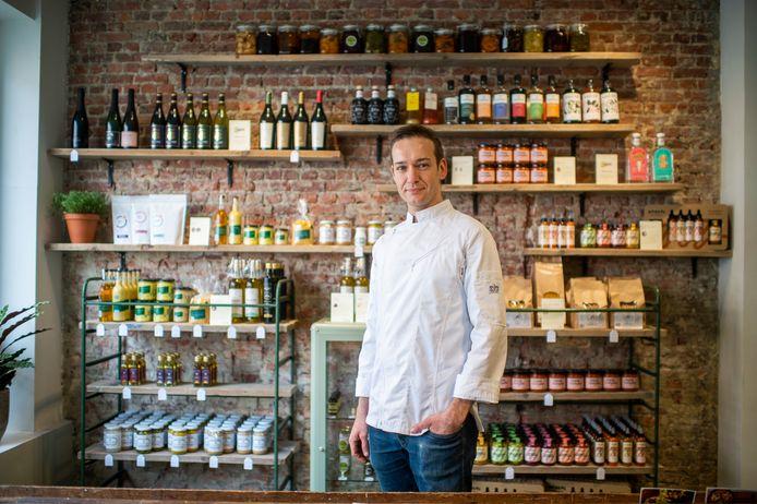 Bram Uyttenhoven (36) werkt al zestien jaar als kok en startte nu ook zijn eigen fysieke zaak op 't Zuid.