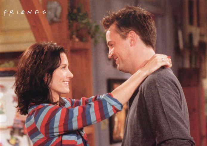 Monica en Chandler: één van de meest geliefde televisiestelletjes ooit.