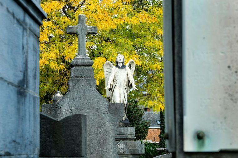 De begraafplaats van Laken. Beeld Marc Baert