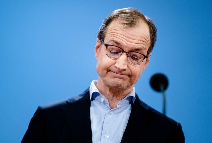 Eric Wiebes, voormalig minister van Economische Zaken.