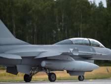 Fin de mission pour les F-16 belges en Irak et en Syrie