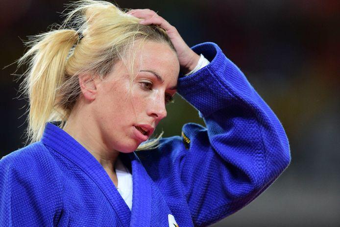 La judoka Charline Van Snick
