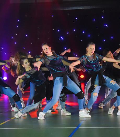 Dansdemonstraties in sporthal Middelburg