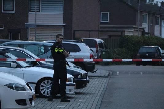 De politie heeft de omgeving afgezet