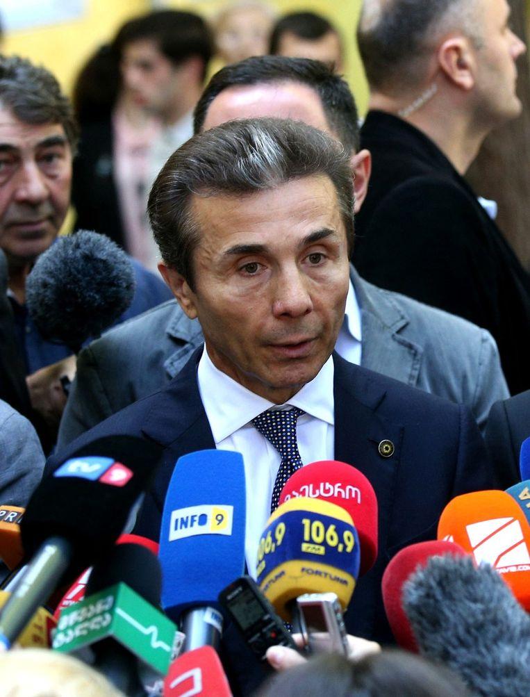 Bidzina Ivanisjvili. Beeld AFP