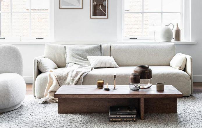 Deze salontafel kun je makkelijk zelf maken én stylen.