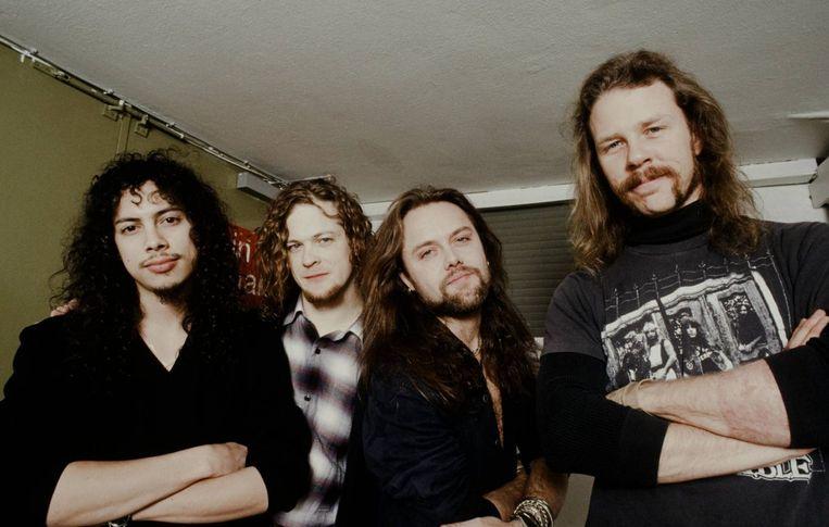 Metallica, drie decennia terug. Beeld Getty