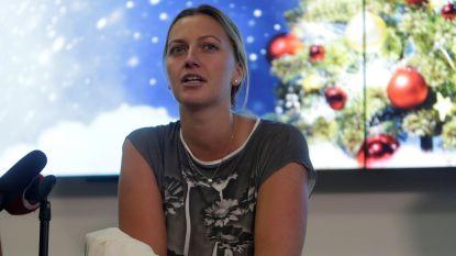 Bijna hersteld van messteek: Petra Kvitova hoopt op Roland Garros