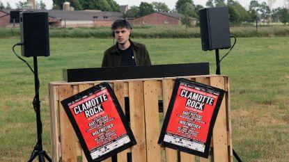 Clamotte Rock in je eigen huiskamer? Het kon! 'Livestream DJ HYPESQUAD druk bijgewoond via Facebook'