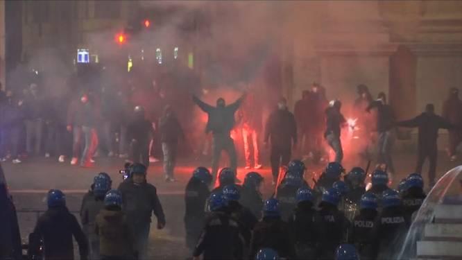 LIVE. Hevige rellen in Italië uit protest tegen coronamaatregelen