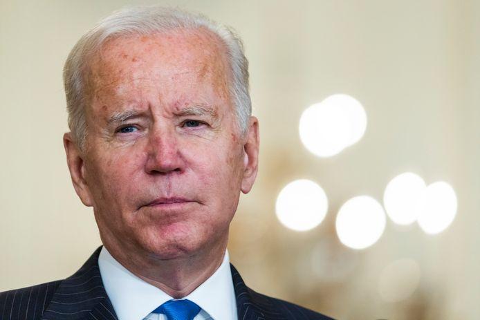 De Amerikaanse president Joe Biden
