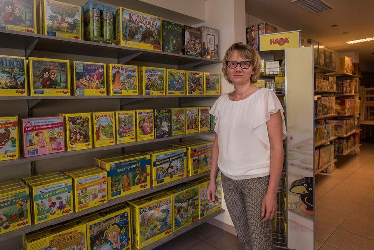 Bianca Nevejans van spellenwinkel De Speelplekke.