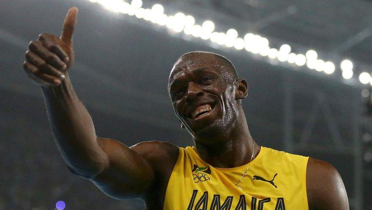 Usain Bolt Beeld reuters