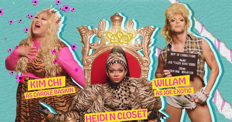 Tiger Queens: The Tiger King Musical Beeld Netflix