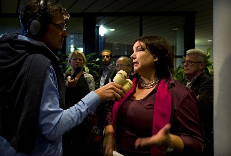 FNV-voorzitter Agnes Jongerius. Beeld anp