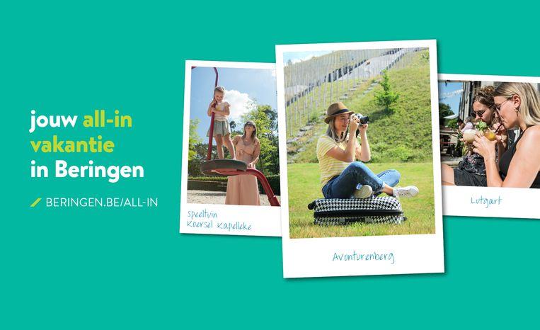 Het nieuwe zomeraanbod in Beringen.