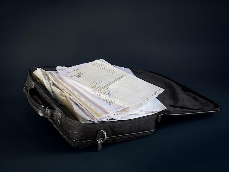 De koffer van Ali. Beeld Anoek Steketee