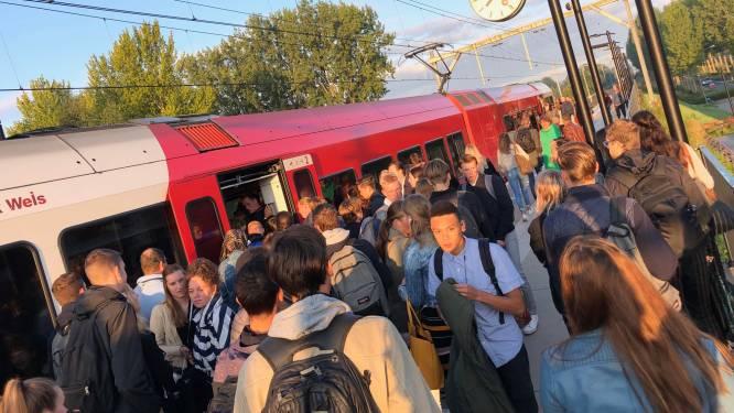 Reizigers stomverbaasd: treinen razen in ochtendspits voorbij op station Stadspolders