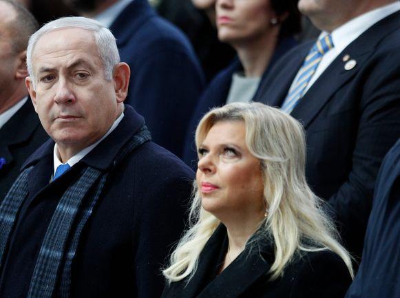 De Israëlische premier en zijn vrouw