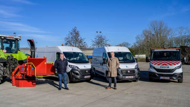 Gemeente kan rekenen op drie nieuwe voertuigen op CNG en hakselaar gemaakt door lokaal bedrijf
