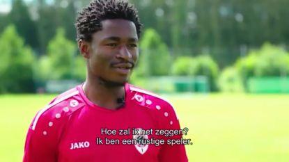 Eerste training Hongla nog zonder maatje Lamkel Zé