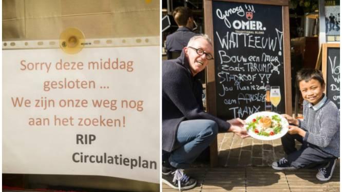 """Handelaars na eerste dag circulatieplan: """"Willen geen tweede Brugge worden"""""""
