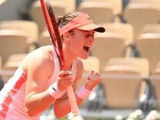 Zidansek en Pavlioetsjenkova gaan strijden om onverwachte finaleplaats op Roland Garros