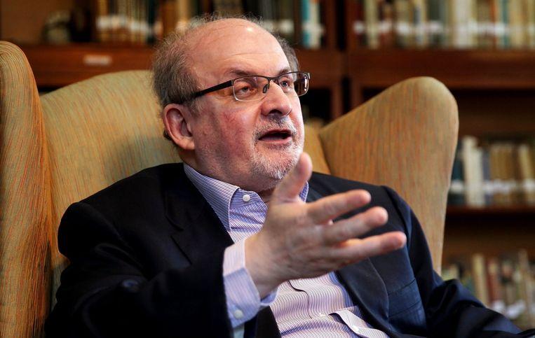 Salman Rushdie Beeld epa