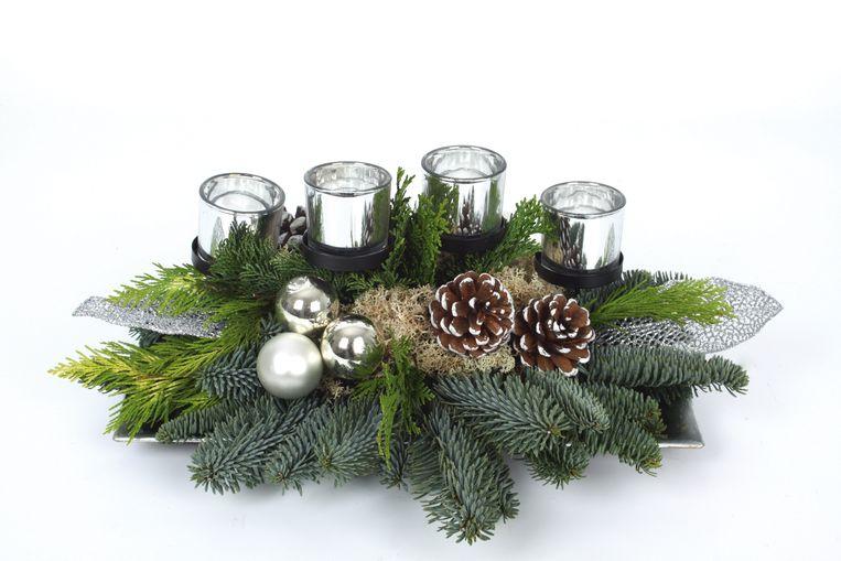 Kom zelf een kerststukje maken bij KVLV