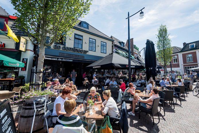 Het digitale reserveringssysteem Boeskooltafel.nl hoopt ertoe kunnen bijdragen dat de terrassen, cafés en restaurants in Oldenzaal weer gevuld raken.